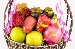 Fruite Basket Royalty Free Stock Photography