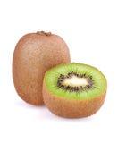 Fruite del Kiwi e mezzo Immagini Stock Libere da Diritti