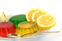 Fruite jelly Stock Photography