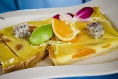 Fruite kulebiaki Zdjęcia Royalty Free