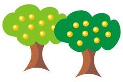 Fruitful trees Stock Photo