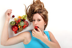 Fruitgirl Stock Images