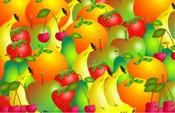Fruitig vector illustratie