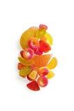 Fruitige geleisnoepjes Royalty-vrije Stock Foto's