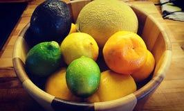 Fruitige Kom stock afbeelding