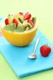 Fruitige salade royalty-vrije stock foto