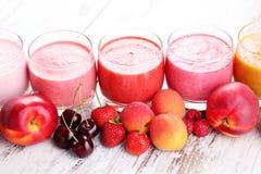 Fruitige smoothie Stock Fotografie