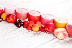 Fruitige smoothie Royalty-vrije Stock Foto