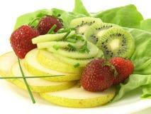 Fruitige snack stock foto