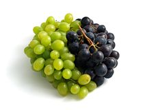 Fruitige yin-yang Royalty-vrije Stock Afbeelding