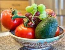 Fruitkom in Keuken royalty-vrije stock fotografie