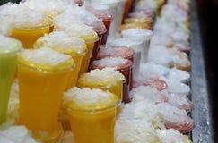 Fruitkoppen Stock Afbeeldingen