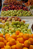 Fruitmarket Oranges and Apples Royalty Free Stock Photo