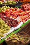 Fruitmarkt Royalty-vrije Stock Afbeeldingen