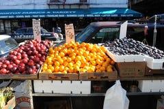 Fruitopslag in Brooklyn Royalty-vrije Stock Foto