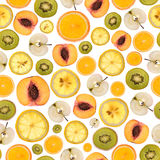 Fruitpatroon Stock Foto