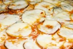 Fruitpizza Royalty-vrije Stock Afbeeldingen