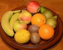 Fruitplaat stock foto's