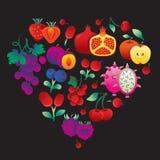Fruitpurple Royalty-vrije Stock Foto's