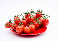 Fruits:cherry tomatoes Stock Image