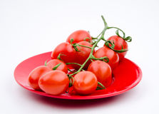 Fruits:cherry tomatoes Stock Images