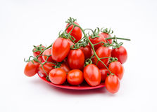 Fruits:cherry tomatoes Stock Photos