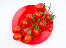 Fruits:cherry tomatoes Royalty Free Stock Photography