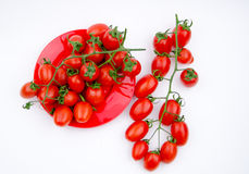 Fruits:cherry tomatoes Royalty Free Stock Images