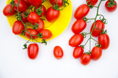 Fruits:cherry tomatoes Stock Photography