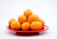 Fruits:The little orange Royalty Free Stock Image