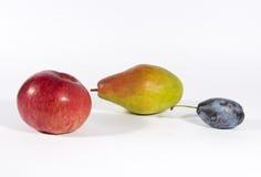 fruits белизна Стоковые Фотографии RF