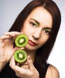 fruits женщина стоковое изображение rf