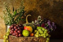fruits жизнь все еще Стоковые Фото