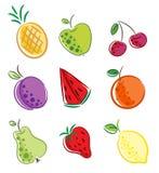 fruits икона Стоковые Фотографии RF