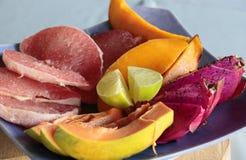 fruits диск тропический Стоковая Фотография