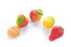 fruits марципан Стоковые Изображения RF