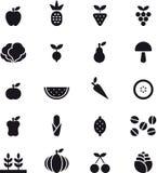 fruits овощи икон иллюстрация вектора