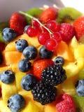 fruits пестроткано Стоковая Фотография RF
