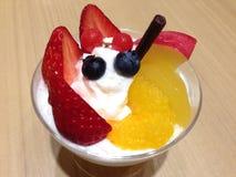 Fruits пирог Стоковое Изображение