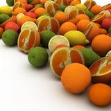 Fruits предпосылка Стоковая Фотография