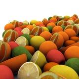 Fruits предпосылка Стоковая Фотография RF