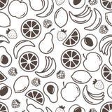 Fruits предпосылка Стоковые Фотографии RF