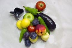 fruits различные овощи стоковые фото
