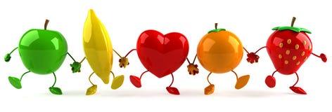 fruits сердце Стоковые Фото