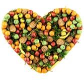 fruits сердце Стоковое Изображение
