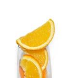 fruits стеклянный помеец дольки Стоковые Фото