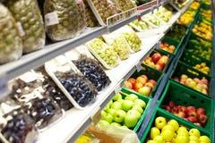fruits супермаркет Стоковая Фотография