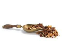 fruits чай листьев травы травяной Стоковые Изображения