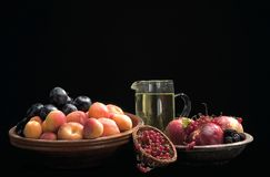Fruits. Still life of fruits Royalty Free Stock Photo