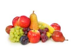 Fruits. Isolated on white background royalty free stock photos